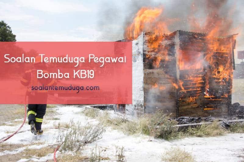 Soalan Temuduga Pegawai Bomba KB19